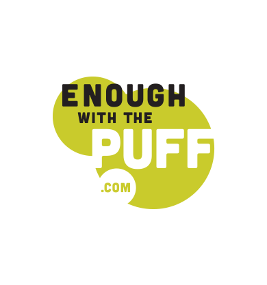 enough with the puff logo