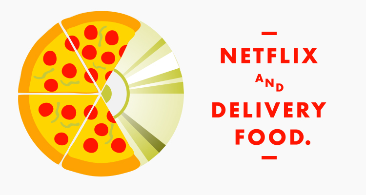 netflix and food delivery